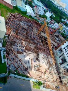 Tiến độ xây dựng dự án căn hộ chung cư SKY89 tháng 06/2019