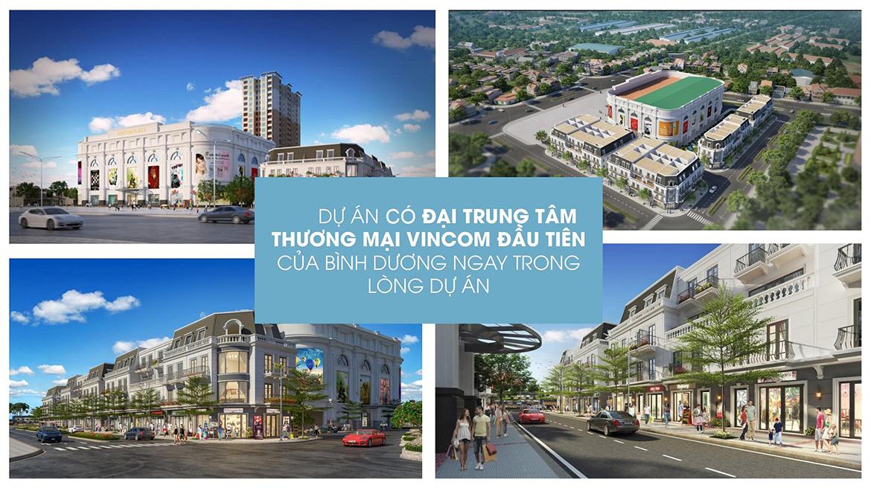 Tiện ích dự án căn hộ chung cư Charm City Dĩ An Bình Dương