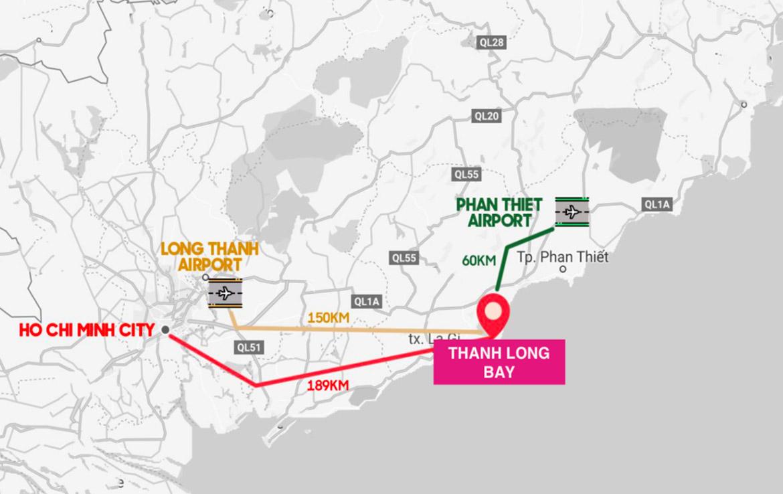 Vị trí địa chỉ dự án nhà phố, biệt thự, condotel Thanh Long Bay Bình ThuậnVị trí địa chỉ dự án nhà phố, biệt thự, condotel Thanh Long Bay Bình Thuận