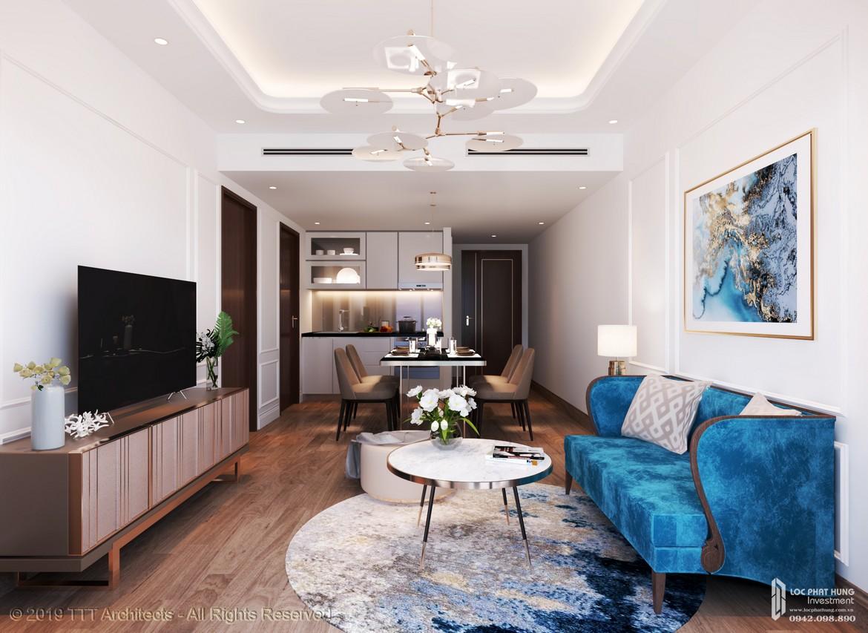 Nội thất dự án căn hộ Condotel Oyster Gành Hào Đường 82 Trần Phú chủ đầu tư Vietpearl Group