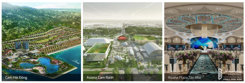 Một số dự án chủ đầu tư dự án Saigon SaiGon Asiana Quận 6 đã và đang triển khai xây dựng.