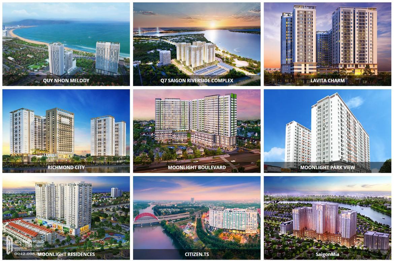 Các dự án chủ đầu tư Hưng Thịnh - CĐT căn hộ chung cư Q7 Boulevard Quận 7 Đường Nguyễn Lương Bằng đã và đang triển khai