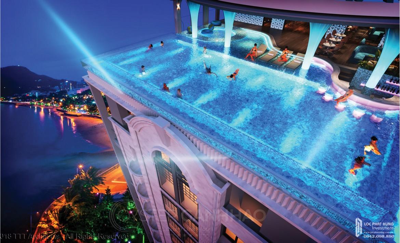 Tiện ích dự án căn hộ Condotel Oyster Gành Hào Đường 82 Trần Phú chủ đầu tư Vietpearl Group