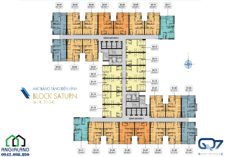 mat bang can ho Q7 Saigon Riverside Complex block saturn 06-18--20-34