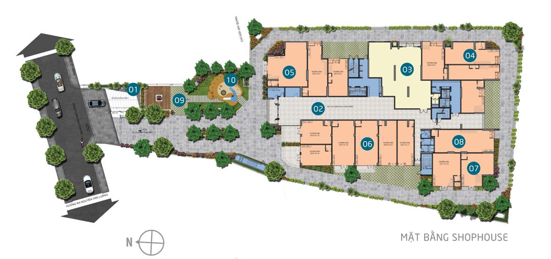 Mặt bằng tầng Shophouse căn hộ chung cư Asiana Capella Quận 6Mặt bằng tầng Shophouse căn hộ chung cư Asiana Capella Quận 6