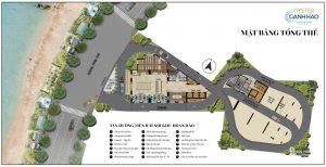 Mặt bằng chi tiết dự án Condotel Oyster Gành Hào