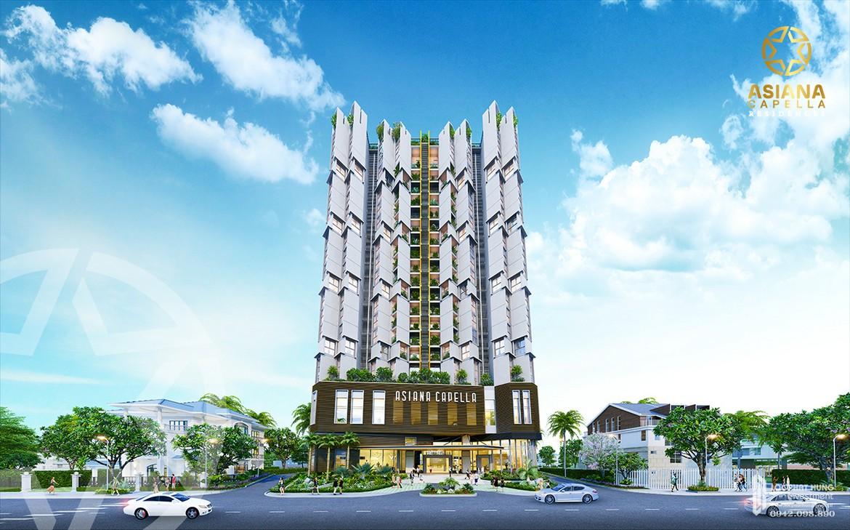 Mặt tiền dự án căn hộ chung cư Asiana Capella đường Trần Văn Kiểu quận 6