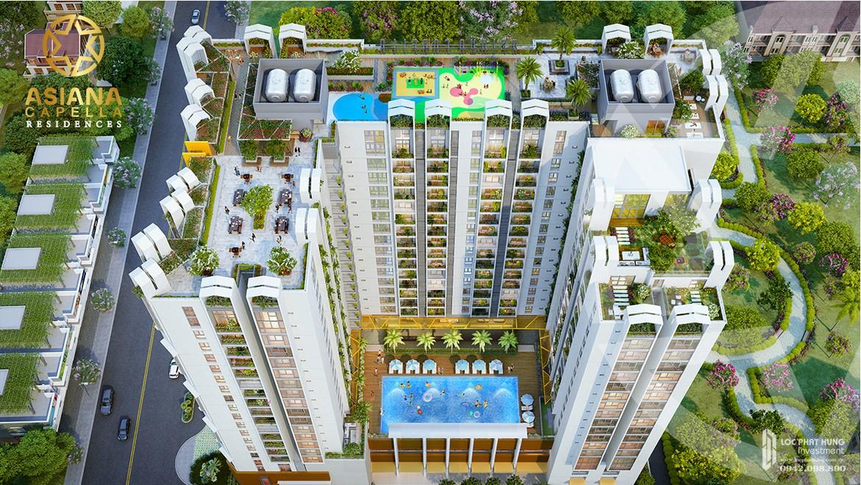 Tổng thể tiện ích dự án căn hộ chung cư Asiana Capella quận 6Tổng thể tiện ích dự án căn hộ chung cư Asiana Capella quận 6