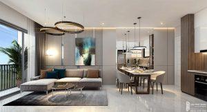 Nhà mẫu dự án căn hộ căn Lovera Vista Bình Chánh
