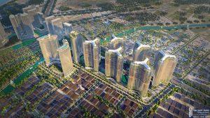 Quy mô dự án căn hộ chung cư Sunshine Diamond River Quận 7