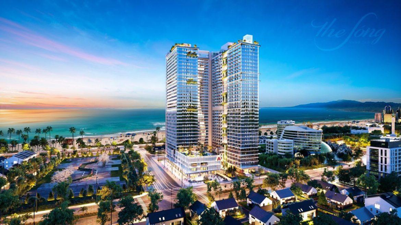 Dự án căn hộ condotel The Sóng Vũng Tàu tọa lạc tại mặt tiền đường Thi Sách sát bên bãi biển Thùy Vân