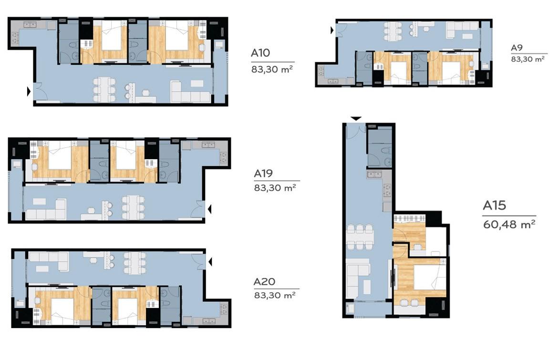 Thiết kế dự án căn hộ Căn hộ chung cư Melody Vung Tau Đường Võ Thị Sáu chủ đầu tư Hưng Thịnh Corp