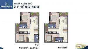 Thiết kế dự án căn hộ Q7 Boulevard Quận 7 đường Nguyễn Lương Bằng Quận 7