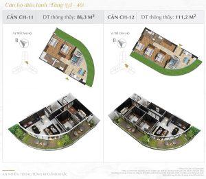 Thiết kế chi tiết dự án căn hộ chung cư Sunshine Diamond River quận 7