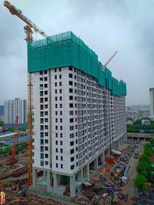 Tiến độ xây dựng dự án căn hộ River Panorama tháng 07/2019