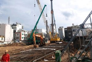 Tiến độ xây dựng dự án căn hộ chung cư La Cosmo tháng 07/2019