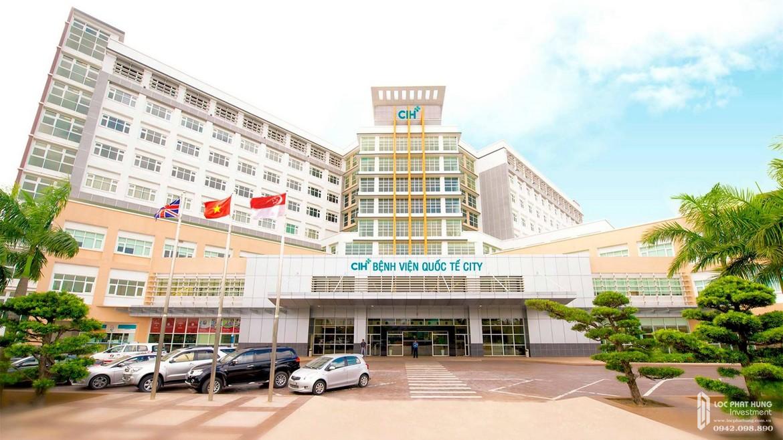 Tiện ích ngoại khu dự án căn hộ chung cư Asiana Capella Quận 6 đường Nguyễn Văn Luông - Bệnh viện quốc tế cách 2km dự án Asiana Capella.