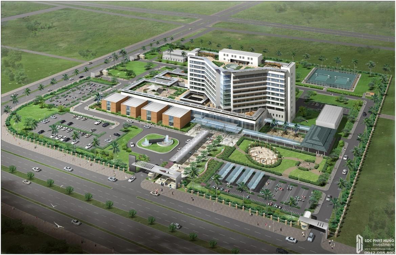 Bệnh viện đa khoa Vũng Tàu cách 15 phút di chuyển từ Vũng Tàu Regency