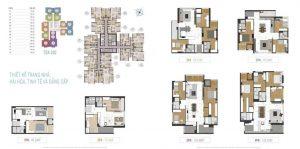 Diện tích căn hộ Laimian City mở bán đợt đầu tiên 2019