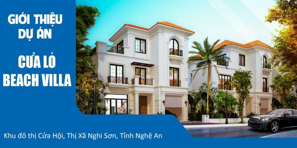 Giới thiệu thông tin dự án Cửa Lò Beach Villa