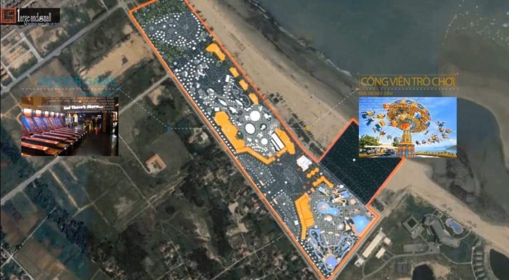 Vị trí dự án Cửa Lò Beach Villa Nghệ An trên thực tế