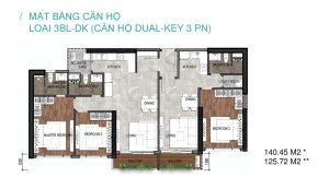Thiết kế các căn hộ tại dự án The Loft Riviera Point Quận 7