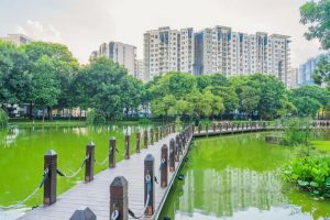 Cần bán căn hộ Celadon City Block A Khu Emerald 63m2 hướng Đông Nam view công viên 16ha