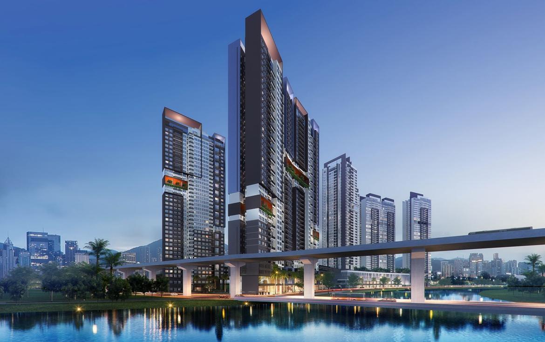 Mua bán cho thuê dự án căn hộ chung cư The Loft Riviera Point Quận 7 Đường Huỳnh Tấn Phát chủ đầu tư Keppel Land