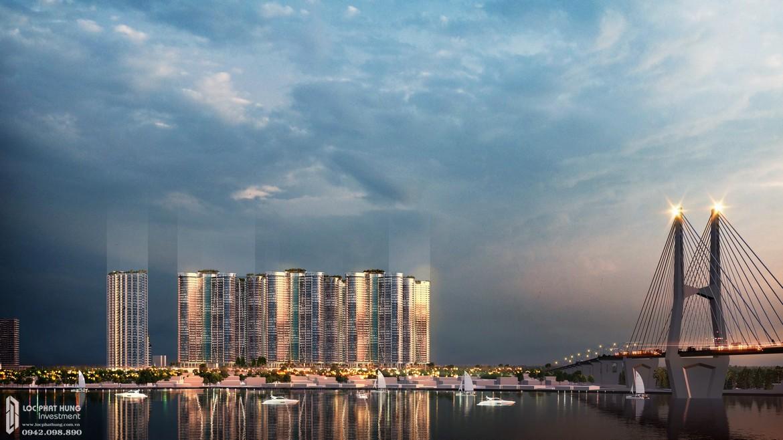 Sự tráng lệ căn hộ chung cư Sunshine Diamond River Quận 7 từ view sông Sài Gòn
