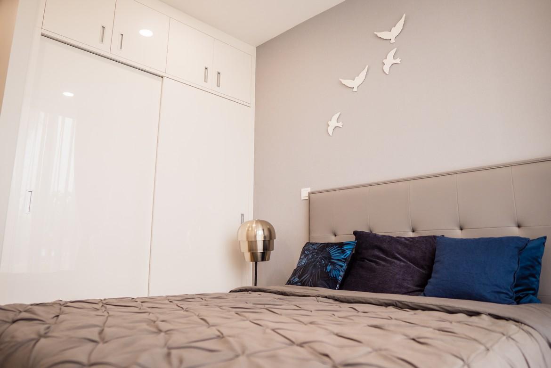 Phòng ngủ Master căn hộ  mẫu 3 phòng ngủ dự án Eco Green Sài Gòn Quận 7