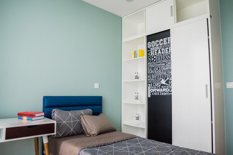 Phòng ngủ nhỏ căn hộ  mẫu 3 phòng ngủ dự án Eco Green Sài Gòn Quận 7