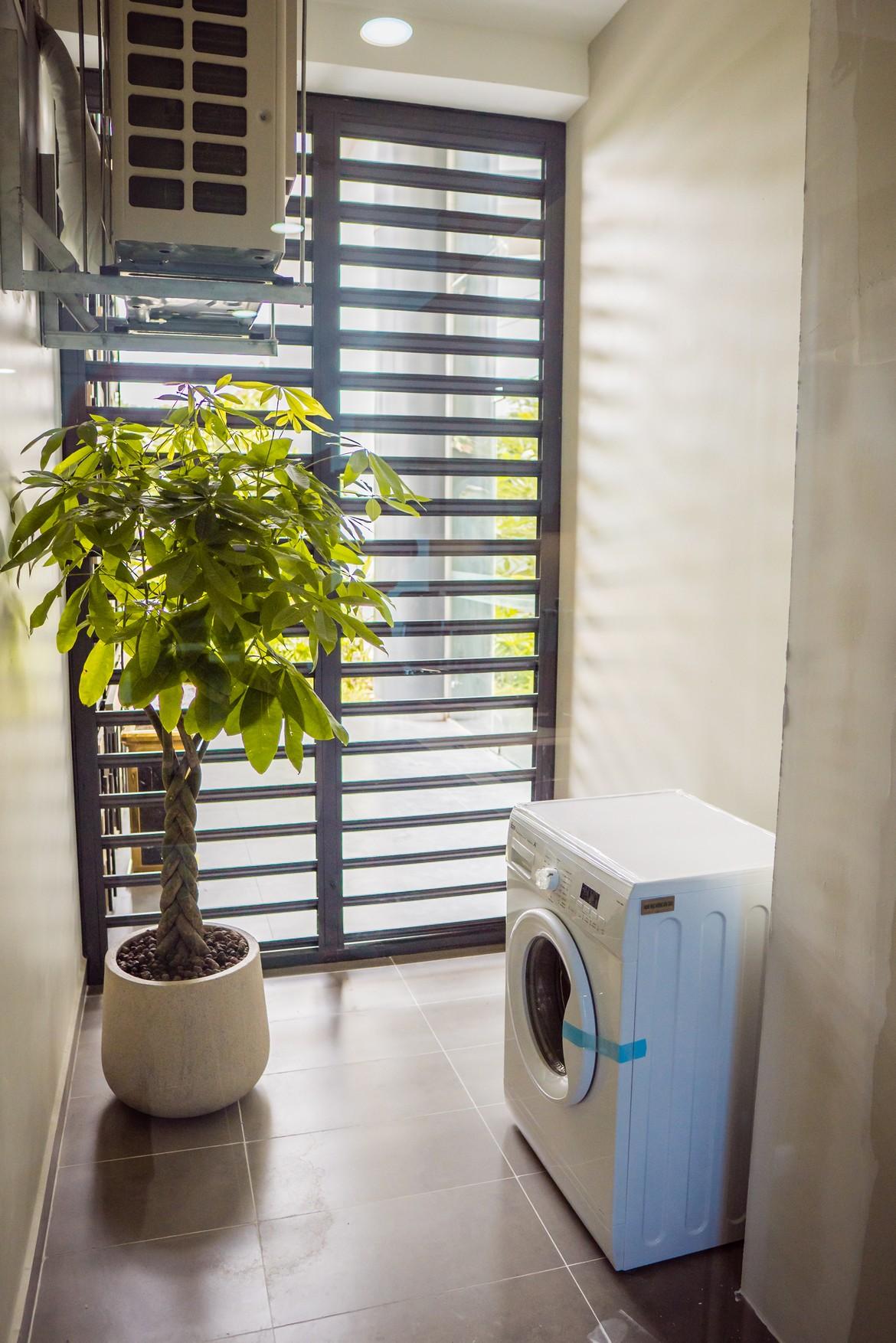 Thiết kế sân phơi nhà mẫu căn hộ 3 phòng ngủ dự án Eco Green Sài Gòn Quận 7