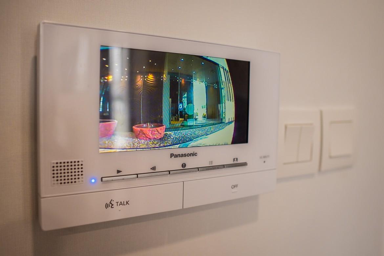 Hệ thống Video call được trang bị cho mỗi căn hộ  mẫu 3 phòng ngủ dự án Eco Green Sài Gòn Quận 7