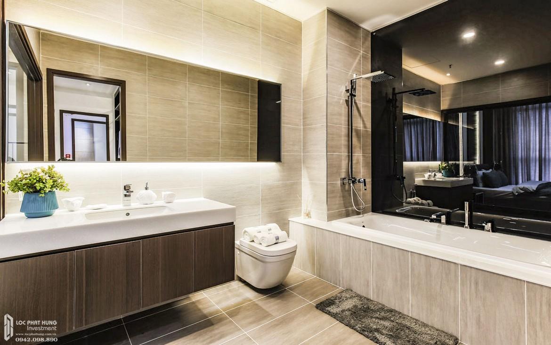 Thiết kếvệ sinh phòng khách nhà mẫu dự án căn hộ chung cư Panomax River Villa Quận 7 Đường Đào Trí chủ đầu tư TTC LAND