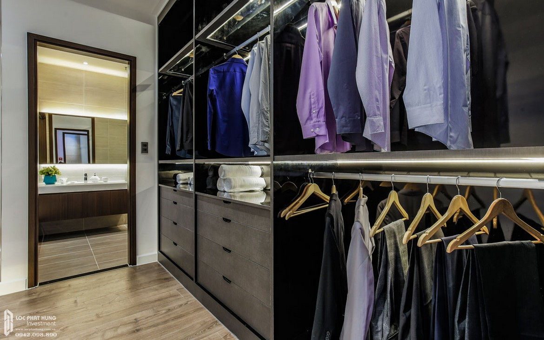 Thiết kế phòng Master phòng khách nhà mẫu dự án căn hộ chung cư Panomax River Villa Quận 7 Đường Đào Trí chủ đầu tư TTC LANDĐường Đào Trí chủ đầu tư TTC LAND