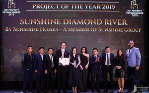 Sunshine Diamond River giành đến hai giải thưởng danh giá tại Property Vietnam Awards 2019