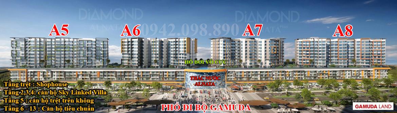 Mua bán cho thuê căn hộ Diamond Alnata Plus Celadon City Quận Tân Phú chủ đầu tư Gamuda Land