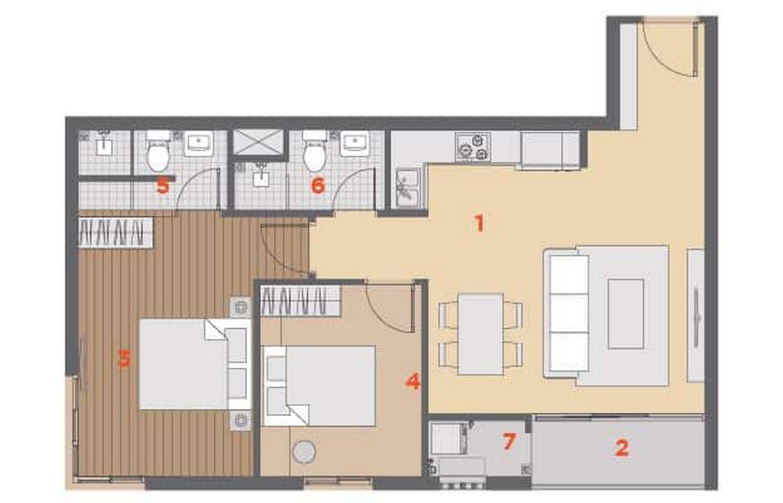 Thiết kế dự án căn hộ chung cư HausNima Quận 9 Đường Lò Lu chủ đầu tư EZLand