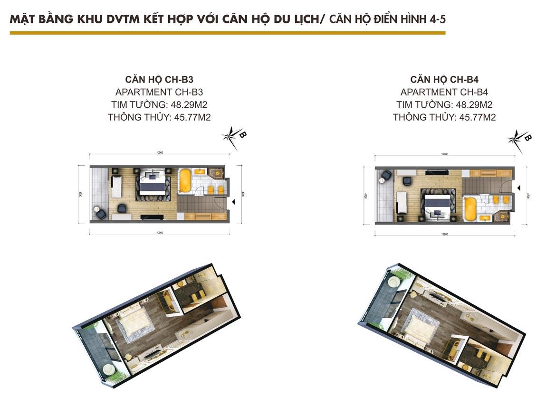 Thiết kế dự án căn hộ condotel Hội An Golden Sea Đường Nguyễn Phan Vinh chủ đầu tư Hòa Bình