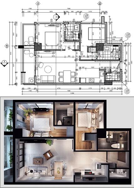 Mua bán cho thuê dự án căn hộ chung cư Center Point Đà Nẵng Đà Nẵng Đường Nguyễn Thị Minh Khai chủ đầu tư Thành Đạt