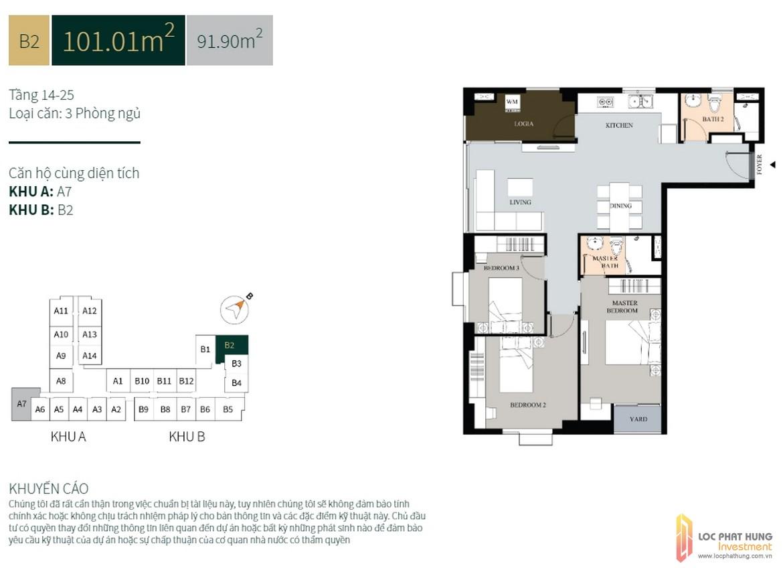 La Cosmo Residences b2 101m2