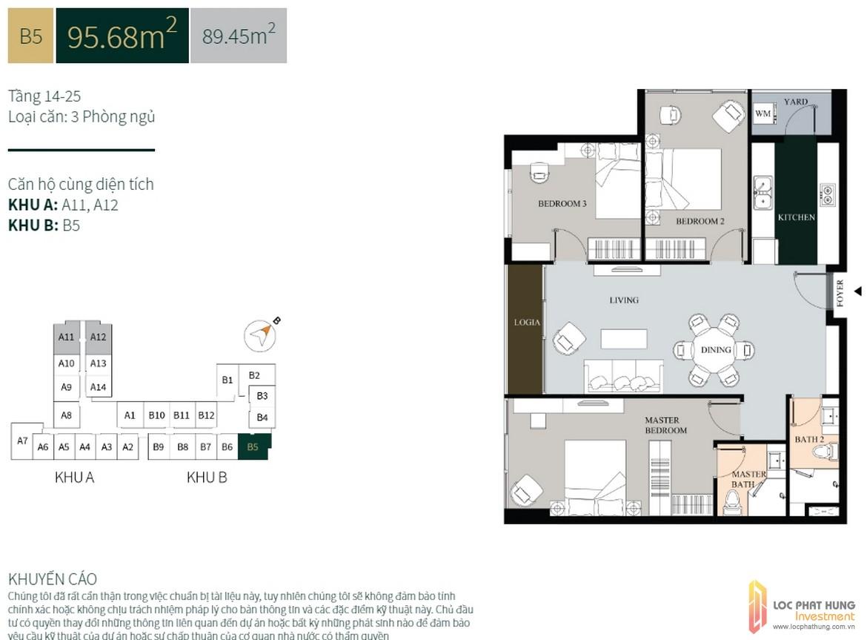 La Cosmo Residences b5 95 8m2