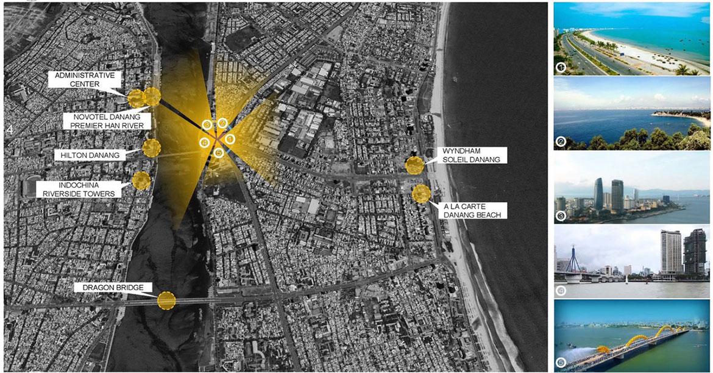 vị trí Dự án New Century Bay Đà Nẵng