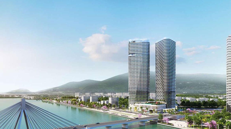 phối cảnh tổng thể Dự án New Century Bay Đà Nẵng