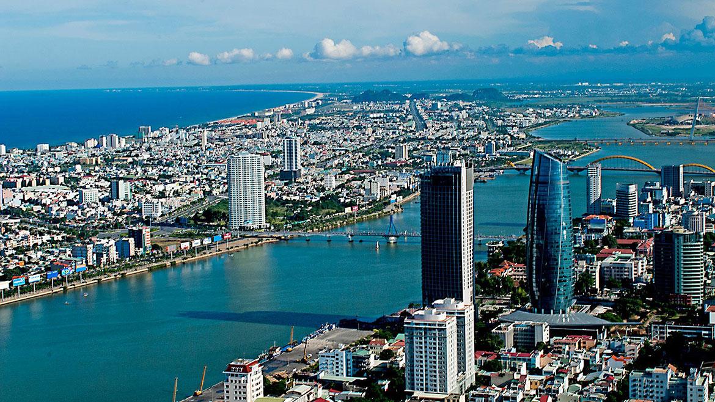 view Dự án New Century Bay Đà Nẵng