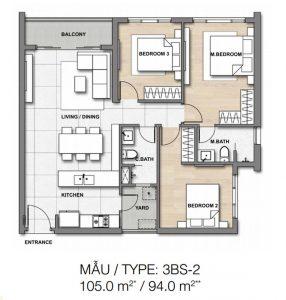 Thiết kế dự án căn hộ Palm Springs Quận 2 đường Song Hành Quận 2