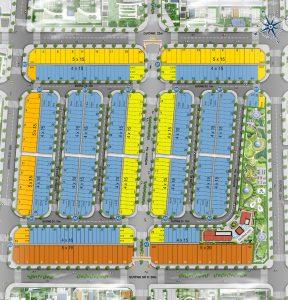 Thiết kế dự án Nhà phố Icon Central Đường Số 5 Dĩ An Bình Dương
