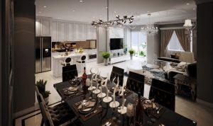 Nhà mẫu dự án căn hộ căn Grand Central Quận 3