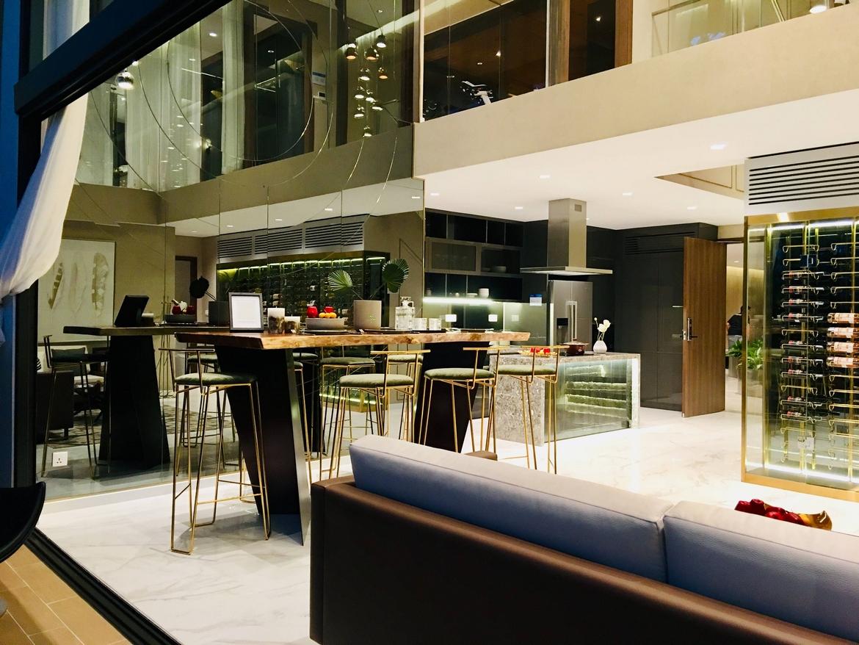 Một góc thiết kế hiện đại căn hộ Duplex
