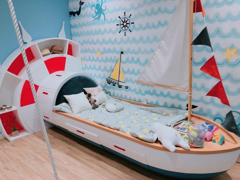 Phòng ngủ nhỏ gọn được thiết kế trong căn hộ 3 phòng ngủ